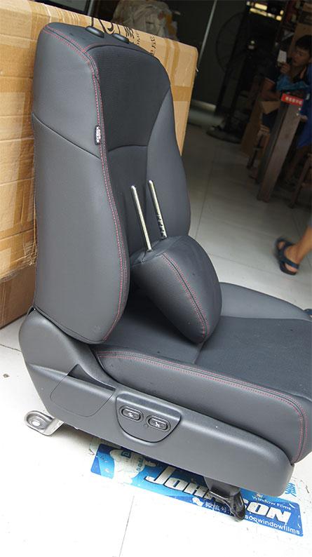 雅阁电动座椅改装